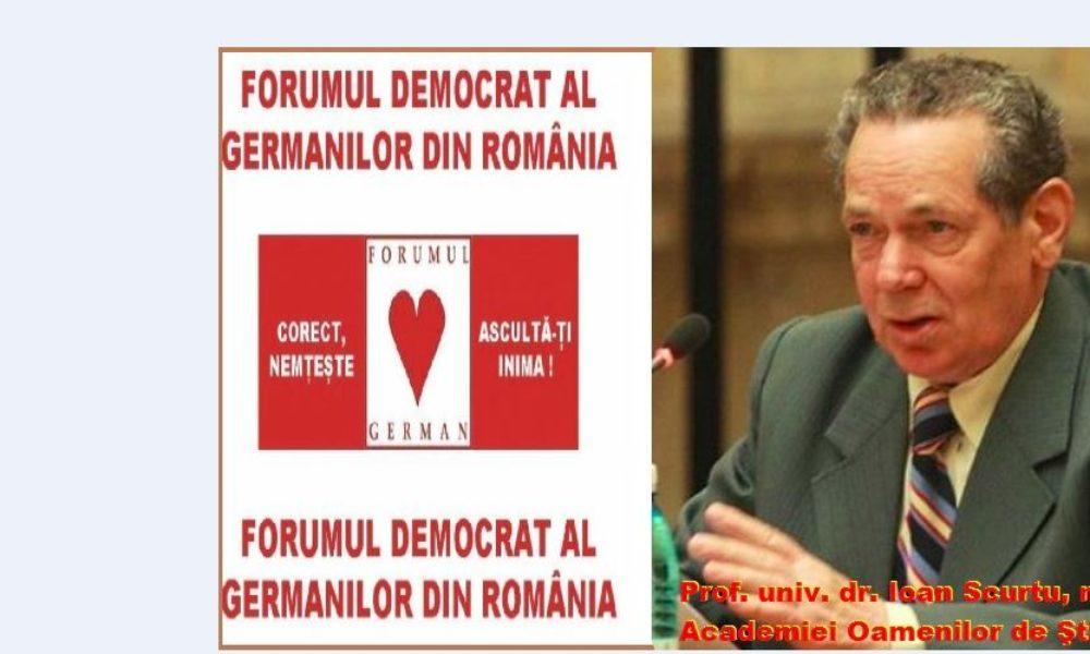 """Condamnarea istoricului Ioan Scurtu, aceeaşi metodă ca în cazul """"FDGR-GEG"""""""